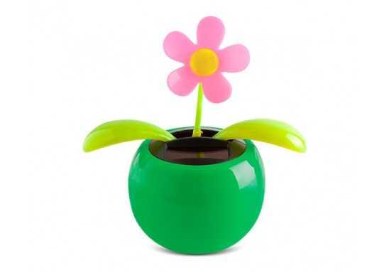 Sunsurge Solar Flowerpot - Green