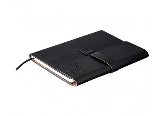 Peninsula Midi Notebook - Black