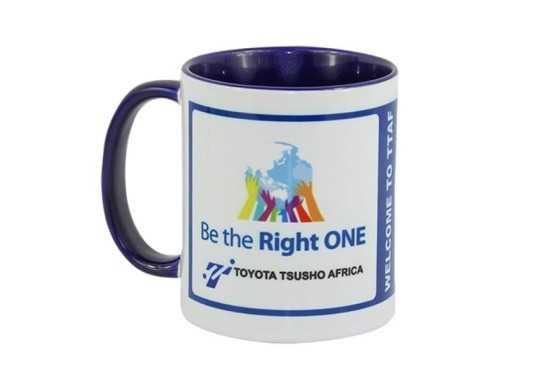 Toucan Sublimation Mug - Blue