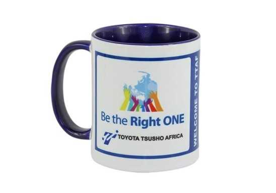 Toucan Sublimation Mug - Blue