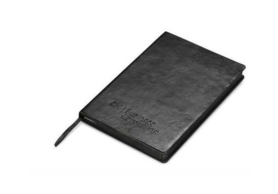 Renaissance A5 Notebook - Black