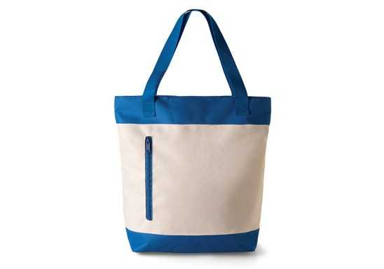 2 Tone Tote Bag - Royal Blue