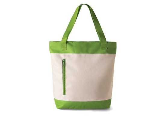 2 Tone Tote Bag - Lime