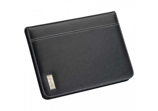 Bonded Leather A5 Zip-Around Folder