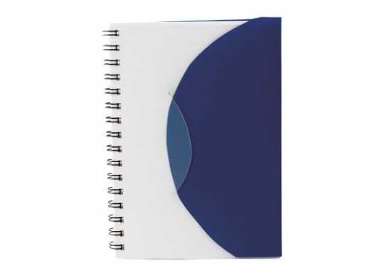Classify Spiral Bound A5 Notebook with Flap and Pen