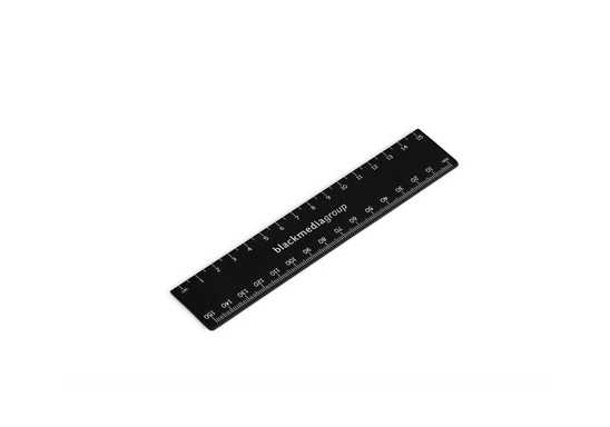 Scholastic 15Cm Ruler - Black