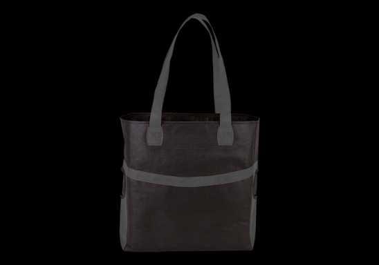 Shopper With Side Pockets - Grey