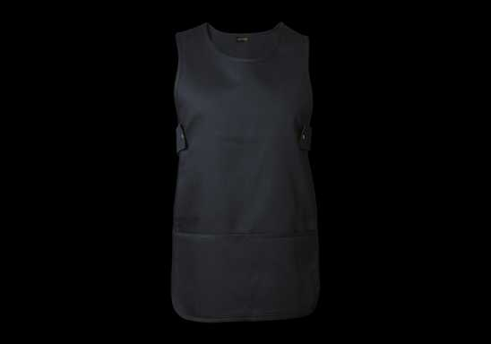 Iris Pinafore - Black