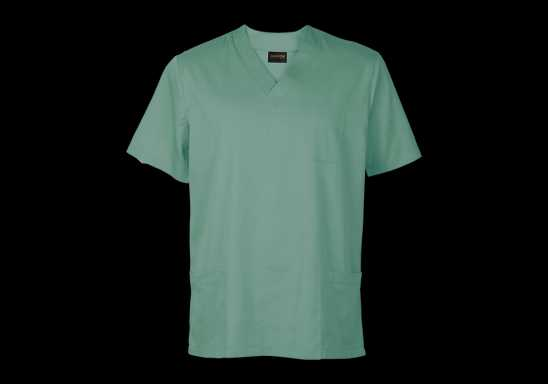 Mens Core Scrub Top - Green