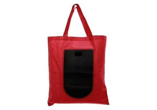 Foldable Shopper Bag - Red