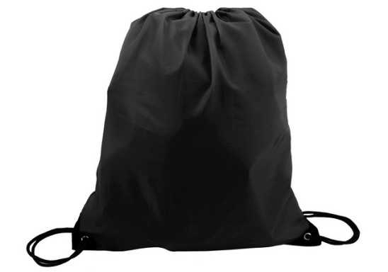 Poly String Bag - Black