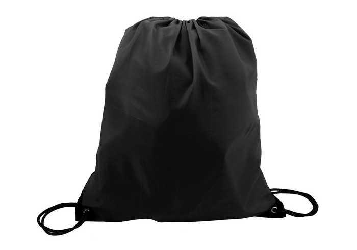 Poly String Bag - Black