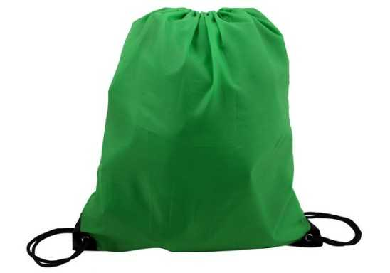 Poly String Bag - Green