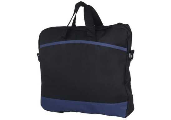 Padded Messenger Bag - Navy