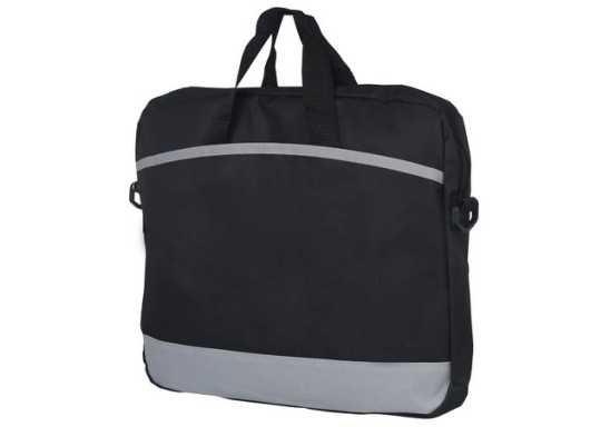 Padded Messenger Bag - Grey