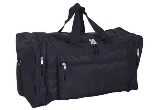 Atlas Tog Bag (With Choice of zip puller colour) - Black