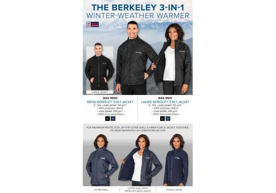 US Basic Ladies Berkeley 3-In-1 Jacket