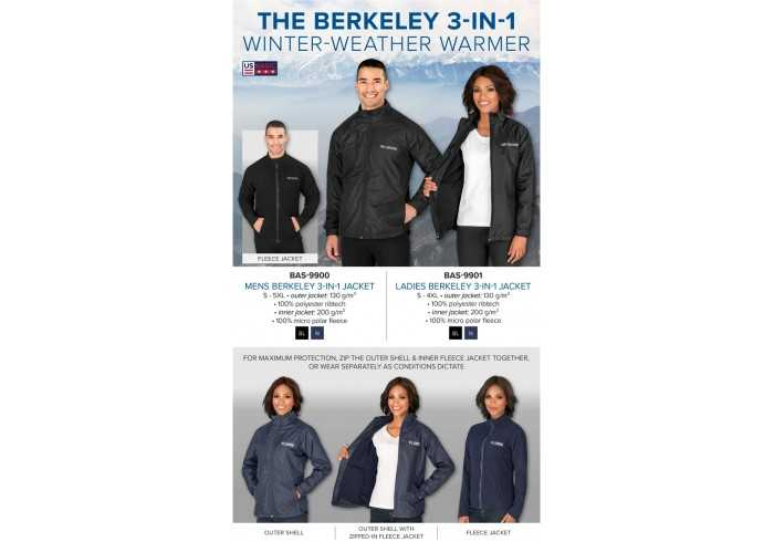 Berkeley 3-In-1 Jacket