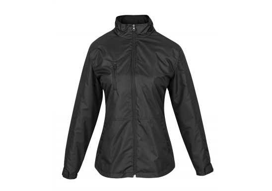 US Basic Ladies Berkeley 3-In-1 Jacket - Black
