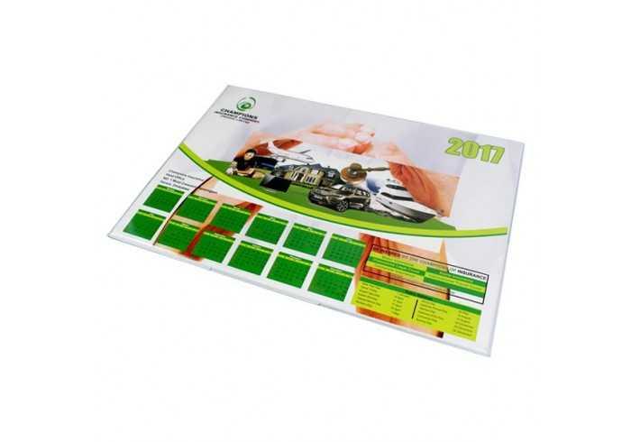 Deskpad Calendar with Full Colour