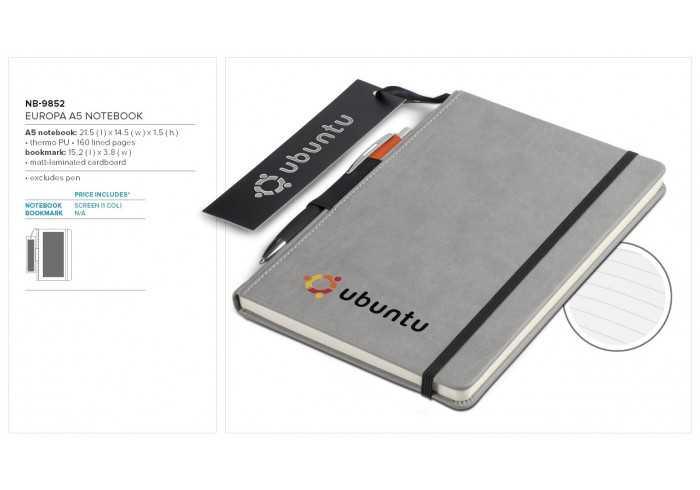 Europa A5 Notebook