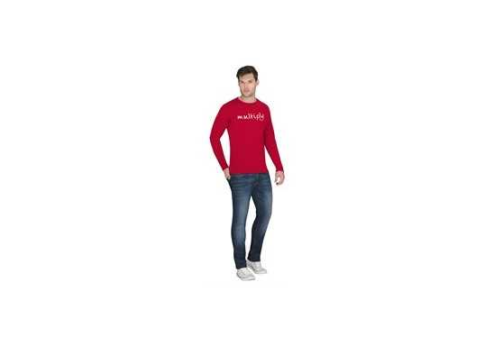 US Basic Portland Mens Long Sleeve T-Shirt