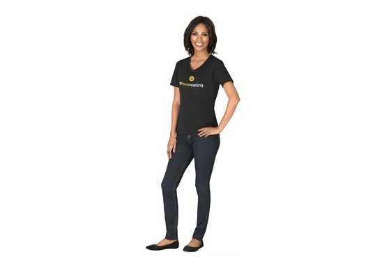 Ladies Super Club 165 V-Neck T-Shirt