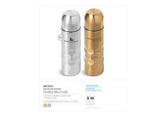 Meteor Double Wall Flask - 500Ml