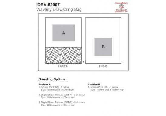 Waverly Drawstring Bag