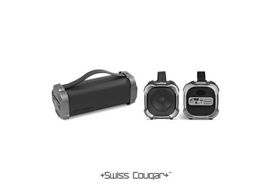 Swiss Cougar Chicago Bluetooth Speaker & Fm Radio