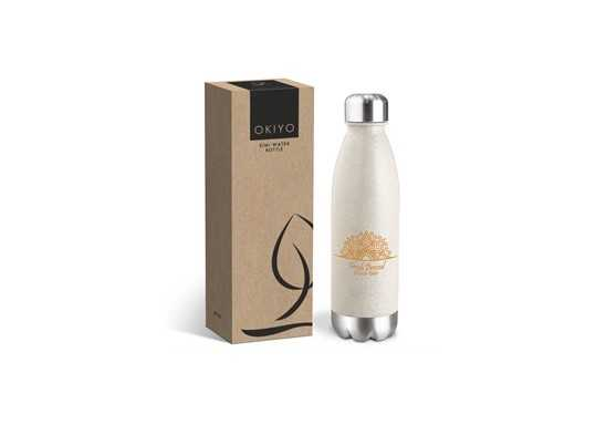 Okiyo Kimi Wheat Straw Water Bottle - 680ml
