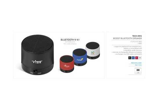 Boost Bluetooth Speaker