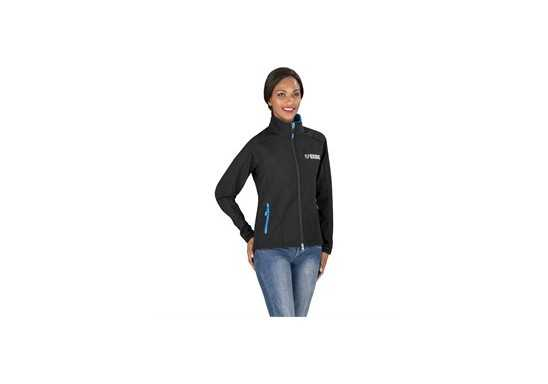 Geneva Ladies Softshell Jacket - Black