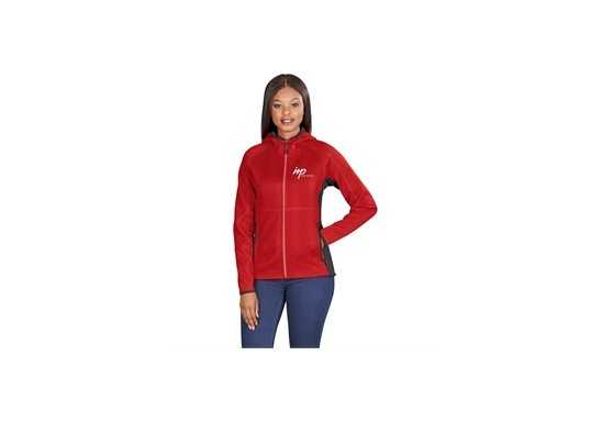 Elevate Ferno Ladies Bonded Knit Jacket - Black