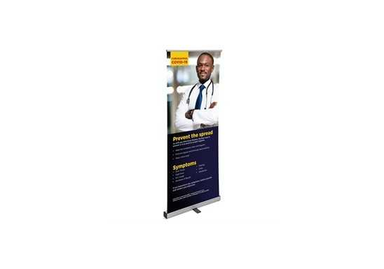Mercury Covid-19 Pull-Up Banner