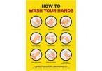 Jupiter A0 Hand Wash Poster - Per Unit