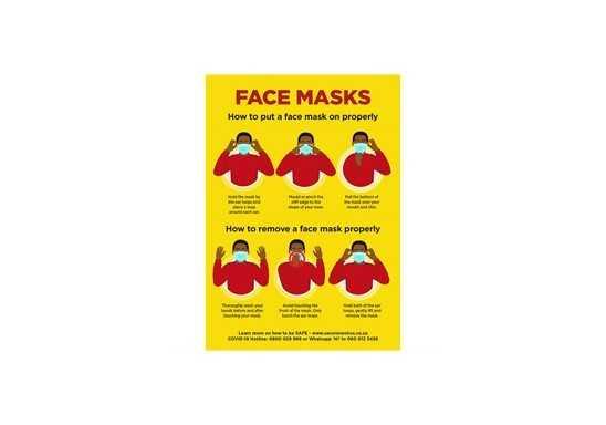 Jupiter A0 Face Masks Poster - Per Unit