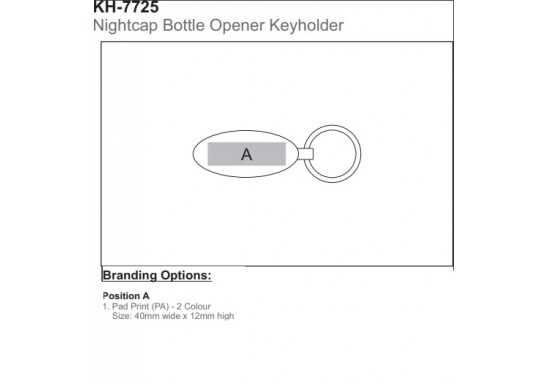 Nightcap Bottle Opener Keyholder