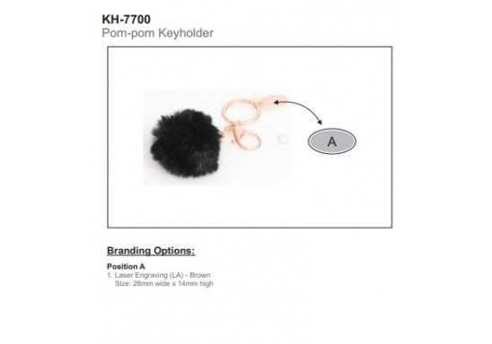 Pom-Pom Keyholder