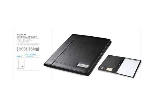 Obsidian A4 Folder