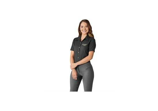 US Basic Aspen Ladies Short Sleeve Shirt