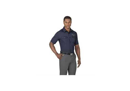 US Basic Bayport Mens Short Sleeve Shirt