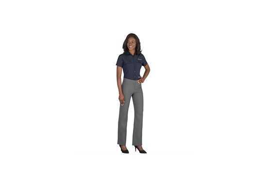 US Basic Bayport Ladies Short Sleeve Shirt