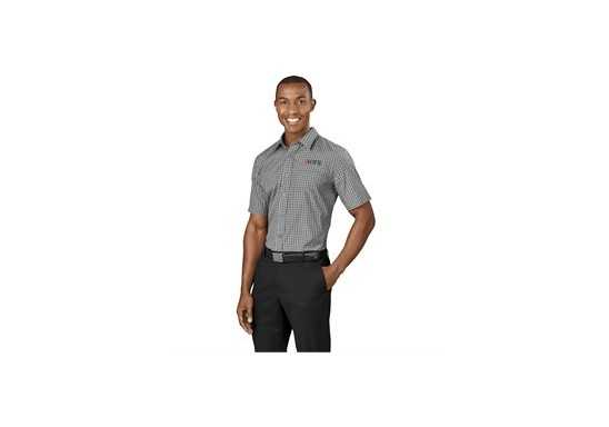 US Basic Aston Mens Short Sleeve Shirt