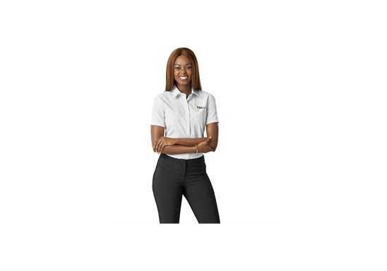 US Basic Huntington Ladies Short Sleeve Shirt