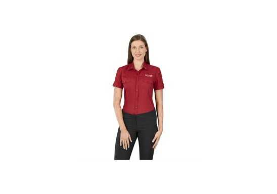US Basic Ladies Short Sleeve Kensington Shirt