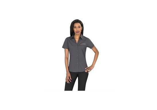 Metro Ladies Short Sleeve Shirt