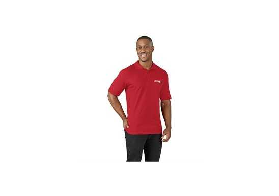 US Basic Mens Cardinal Golf Shirt