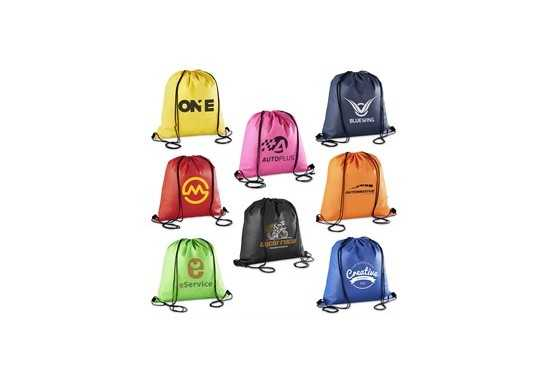 Whitefield Non-Woven Drawstring Bag