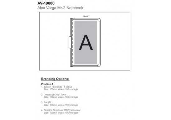 Alex Varga Volta A5 Hard Cover Notebook